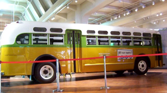 1955/2000s: Rosa Parks bus