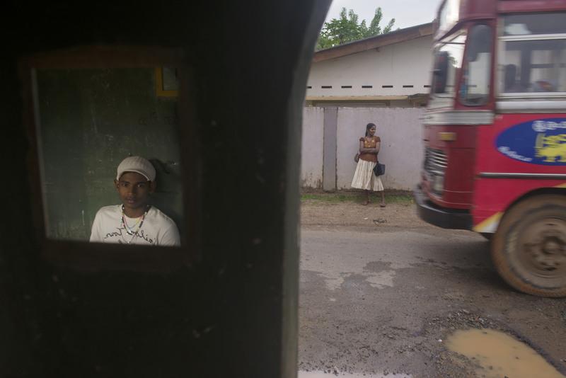 2013: Bus spotting in Sri Lanka