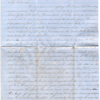 2005.36.187: Elizabeth Caroline Young to P.M.B. Young, 1858 August 20