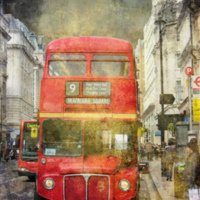 2011: Classic double decker London bus