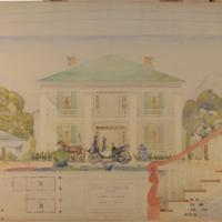 Echols-Newton House, 1855-1933