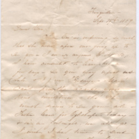 2005.36.118: (Fannie?) to Louisa Young Jones, 1859 September 14