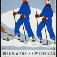 1939: They like winter in New York State: the state that has everything
