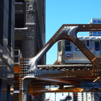 2015: CTA Elevated Inbound Train