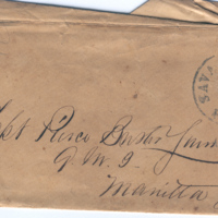 2005.36.164: Letter to P.M.B. Young, 1859 March 31