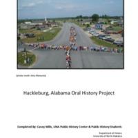 Hackleburg, Alabama Oral History Project