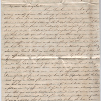 2005.36.293: A letter from Thomas F. Jones to Kate, 1858 May 18