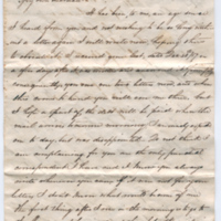 2005.36.280: Letter from Thomas F. Jones Jr. to Kate, 1858 January 9