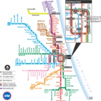 2008: CTA Train Map