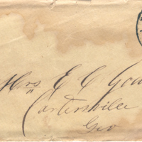 2005.36.167: Letter from P.M.B. Young to Elizabeth Caroline Young, 1856 March 25