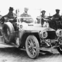 1907: Rolls-Royce Silver Ghost AX201 at Cat and Fiddle Hill (June 22) during the Scottish Reliability Trial