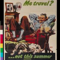 1945: Me travel? Not this summer: vacation at home