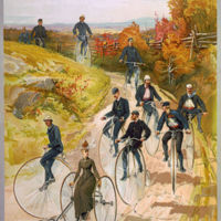 1887: Bicycling