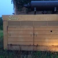 WQLT Transmitter Site: Elvis the Generator