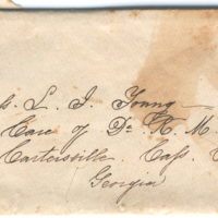 2005.36.122: Jeannie to Louisa Young, 22 May 1859