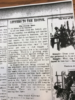 Letter to the Editor, Florence Newspaper, Undated